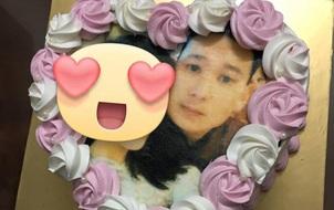 Bạn trai hạnh phúc khoe được Kỳ Duyên tặng bánh sinh nhật