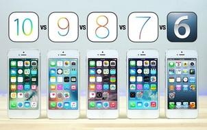 """""""Đại chiến"""" 5 đời iOS: mới chưa chắc đã nhanh!"""