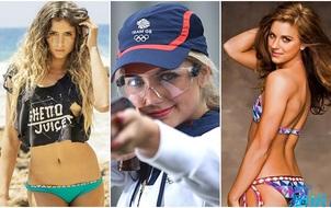 Cho dù Olympic Rio đã kết thúc, nhưng những bóng hồng này vẫn khiến người ta phải xao xuyến
