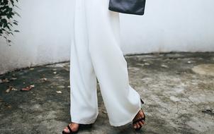 Tự may quần culottes ống rộng dễ vô cùng là dễ