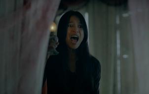 """""""Cô Hầu Gái"""" Nhung Kate la hét hoảng loạn trong biệt thự ma ám"""