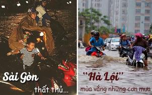 Cơn mưa Sài Gòn vừa qua khủng đến mức độ như thế nào?