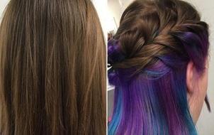 Bộ tóc ma thuật đổi màu của cô gái này đang khiến nhiều người lú lẫn