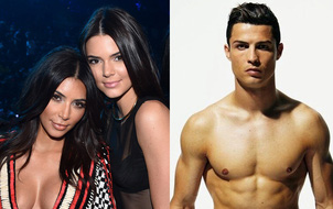 Kim muốn mai mối cô em xinh đẹp Kendall Jenner cho Ronaldo?