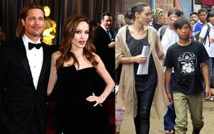Brad Pitt cho rằng các con không an toàn khi ở bên Angelina Jolie vì cô đam mê chính trường