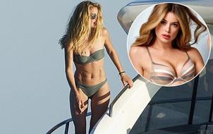 Cựu thiên thần Victoria's Secret khoe cơ bụng lực lưỡng dù đã 2 lần sinh nở