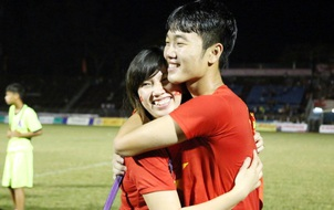 Câu chuyện đậm chất ngôn tình giữa Xuân Trường và cô gái Hàn Quốc