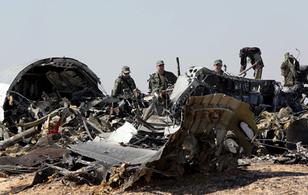Nga tuyên bố máy bay rơi ở Ai Cập do bom khủng bố