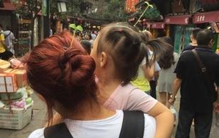 """Giới trẻ Bắc Kinh phát sốt vì trào lưu... """"đầu chỉ để trồng cây"""""""