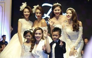 Hồ Ngọc Hà dẫn team The Face ra Hà Nội làm cô dâu lộng lẫy