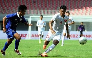Hòa đội bóng Nhật Bản, U19 Việt Nam vào chung kết giải U19 KBZ Bank Cup 2016