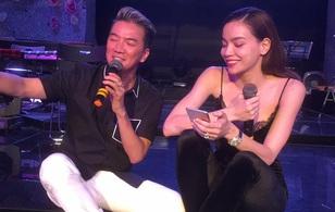 Đàm Vĩnh Hưng, Hồ Ngọc Hà tập nhạc cho liveshow lúc 2h sáng