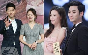 """Kim Soo Hyun - Jeon Ji Hyun vượt mặt cặp đôi """"Hậu duệ mặt trời"""" về tầm ảnh hưởng"""