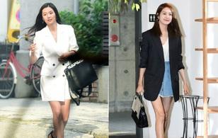 """Jeon Ji Hyun """"dừ"""" và kém sắc hơn đàn chị """"Nữ hoàng Seondeok"""" trong lần tái xuất sau khi sinh"""