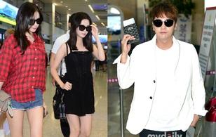SNSD tiếp tục khoe dáng nuột, không thể nhìn ra Jang Geun Suk vì gương mặt sưng phù và bóng nhẫy