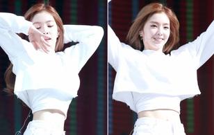 """Irene (Red Velvet) khoe eo """"con kiến"""" khiến netizen phát khóc vì ghen tị"""