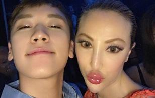 Seungri bắt gặp thân thiết với thảm họa thẩm mỹ Tiết Chỉ Luân tại hộp đêm Hồng Kông