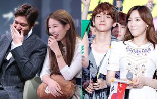 """Những cặp đôi """"yêu nhau là điều khó hiểu nhất hành tinh"""" của showbiz Hàn"""