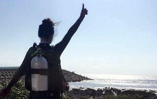 Người mẫu Đài Loan chết đuối khi đang chụp ảnh bikini dưới nước