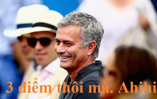 Ảnh chế: Jose Mourinho hào phóng tặng điểm khắp mọi nơi