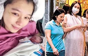"""Hành trình """"khổ tận cam lai"""" mang thai vất vả của các bà mẹ sao Hoa Ngữ"""