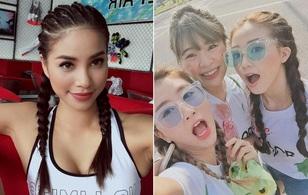 Bạn biết chưa, giới sao & hot girl Việt đang đổ xô diện tóc tết 2 bên đấy!