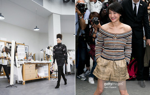 Chanel biến runway thành xưởng may, Châu Tấn là khách mời mặc xấu nhất
