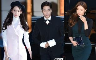 Yoona (SNSD) cùng các đàn chị khoe dáng nuột nà, Eric và EXO đọ vẻ điển trai tại sự kiện