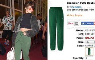 """Fan """"tưởng bở"""" chiếc quần hơn chục triệu của Selena Gomez là quần 200 ngàn đồng"""