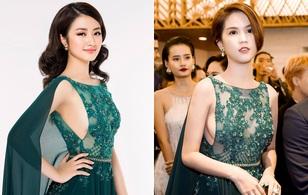 Tân Hoa hậu đọ dáng cùng Ngọc Trinh với đầm hở bạo, ai đẹp hơn?