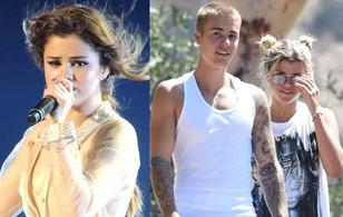 Selena Gomez khóc không ngừng vì Justin Bieber đã say đắm trong tình yêu mới?