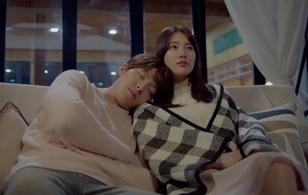 """""""Yêu Không Kiểm Soát"""" tập cuối: Kim Woo Bin ngủ thiếp mãi mãi trên vai Suzy"""