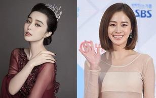 """Tranh cãi việc Top """"Mười người đẹp châu Á"""" thiếu Phạm Băng Băng và Kim Tae Hee"""