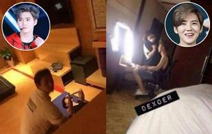Fan cuồng ngày càng quá quắt khi gắn camera quay trộm EXO và Lộc Hàm