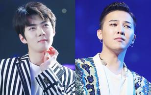 Quá nửa top đầu BXH thần tượng nam được yêu thích nhất thuộc về EXO, G-Dragon ngậm ngùi xếp dưới