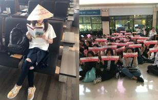 Dara (2NE1) khoe ảnh đội nón lá và đọc sách tìm hiểu về Việt Nam, chuẩn bị đổ bộ sân bay Tân Sơn Nhất