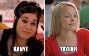 Bạn không tưởng tượng được, bi kịch Taylor - Kanye - Kim lại giống phim Mean girls thế nào đâu!