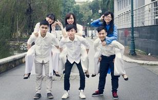 Ngày hội áo dài siêu dễ thương của sinh viên Ngoại Ngữ Bách Khoa