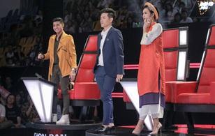 """The Voice Kids: Noo Phước Thịnh - Đông Nhi liên tục """"chặt chém"""", quyết không nhường nhau để giành thí sinh"""