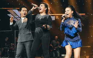 """Chung kết Vietnam Idol: Thu Minh """"xông"""" lên sân khấu đọ giọng với Janice"""