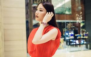 Diễm My 9x đeo đồng hồ 600 triệu, khoe nhan sắc quý phái tại sự kiện