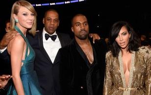 Fergie đùa rằng vụ lùm xùm giữa Kim - Kanye - Taylor là chiêu PR của cả ba