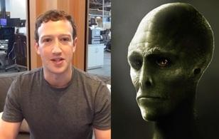 Ông chủ Facebook bị tình nghi là người ngoài hành tinh