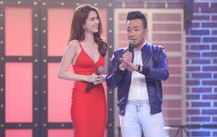 Ngọc Trinh sexy làm host bên Trấn Thành trong show truyền hình mới