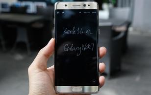 Samsung Galaxy Note7: ấn tượng từ cái chạm đầu tiên