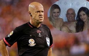 Hi hữu chuyện trọng tài bắt trận CK Copa America lộ ảnh thác loạn với gái bán dâm
