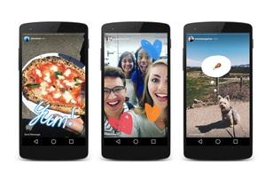 Instagram ra mắt tính năng hoàn toàn giống Snapchat, ngay cả tên cũng giống