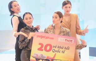 Đội Hà Hồ chiến thắng, An Nguy và Mai Ngô rơi vào vòng nguy hiểm của thử thách Bikini Vietjet