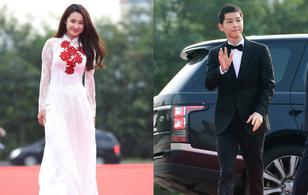 Nhã Phương diện áo dài, đọ sắc cùng dàn sao đình đám Hàn Quốc tại thảm đỏ Seoul International Drama Awards