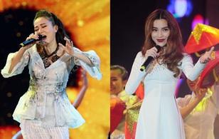 Thu Minh diện đầm cầu kì, Hà Hồ thướt tha áo dài hát mừng 40 năm Tp.HCM mang tên Bác